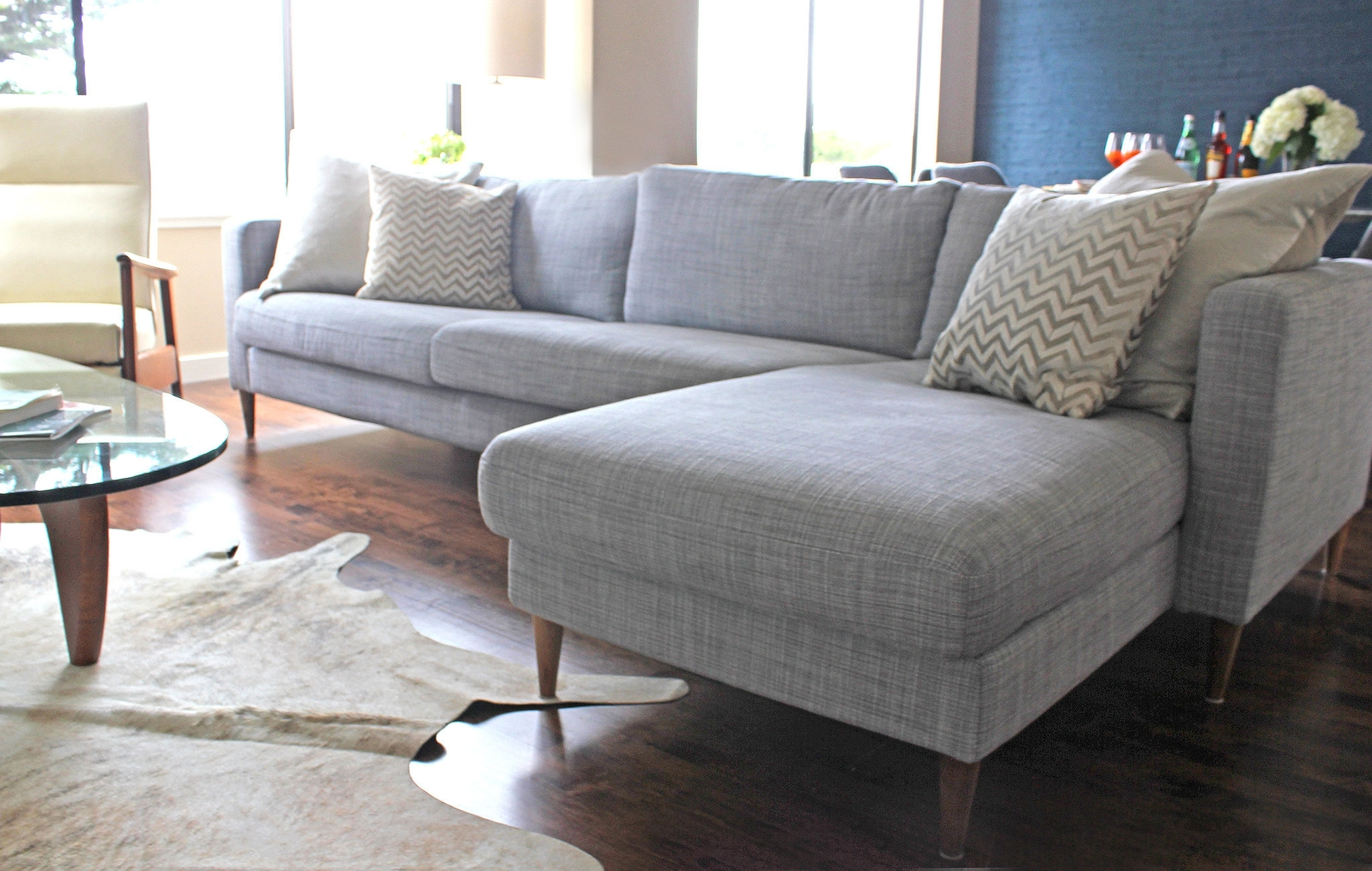 Karlstad Chaises Pertaining To Well Liked Stunning Ikea Karlstad Sofa For Dress Up An Ikea Sofareplacing (View 12 of 15)