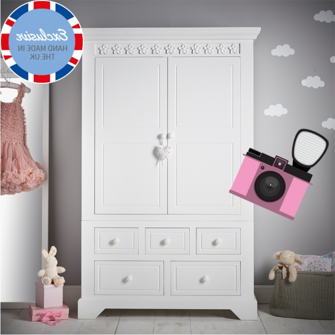 Kids For Chest Of Drawers Wardrobes Combination (View 6 of 15)