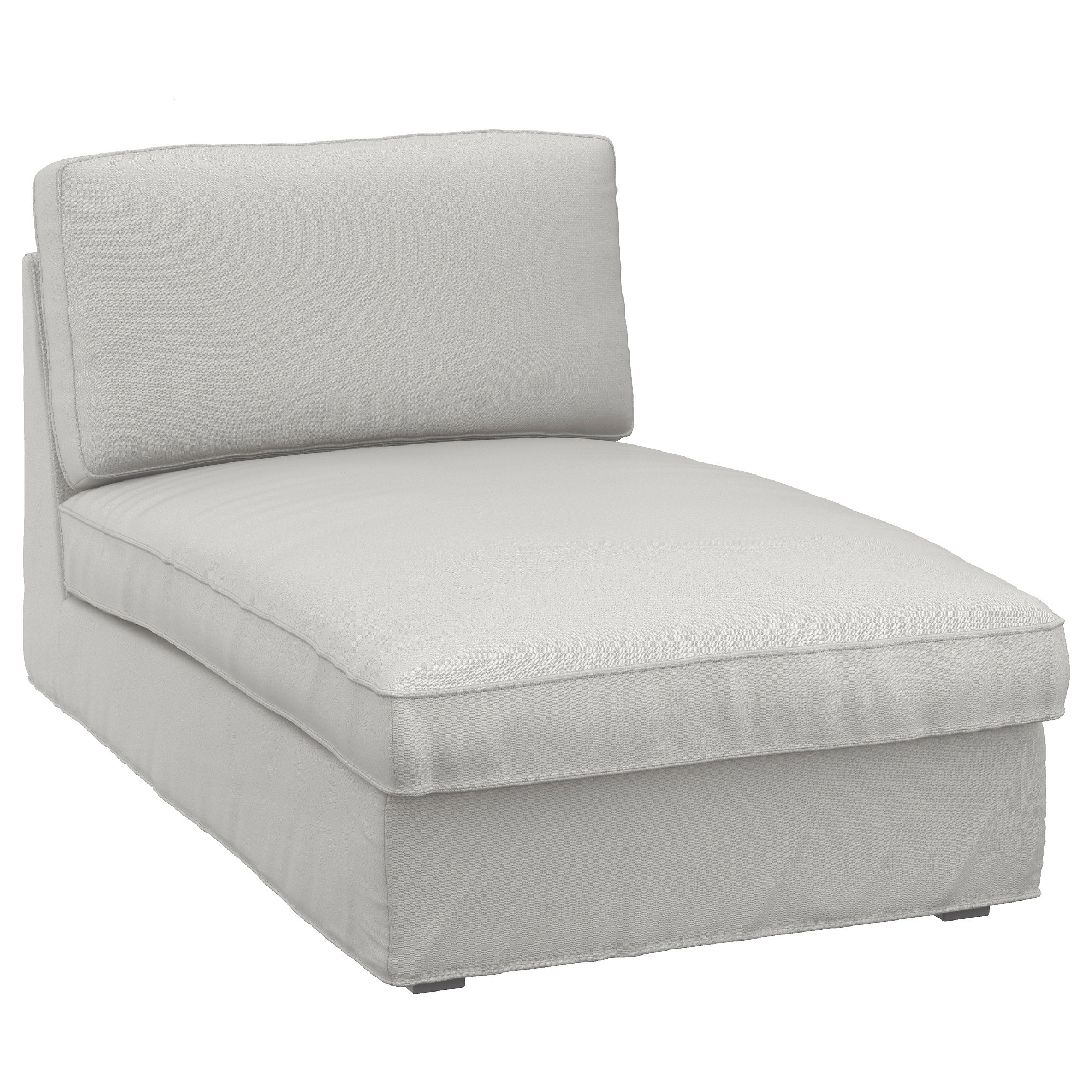 Kivik Chaise Longue Ramna Light Grey – Ikea With Favorite Ikea Chaise Longues (View 4 of 15)