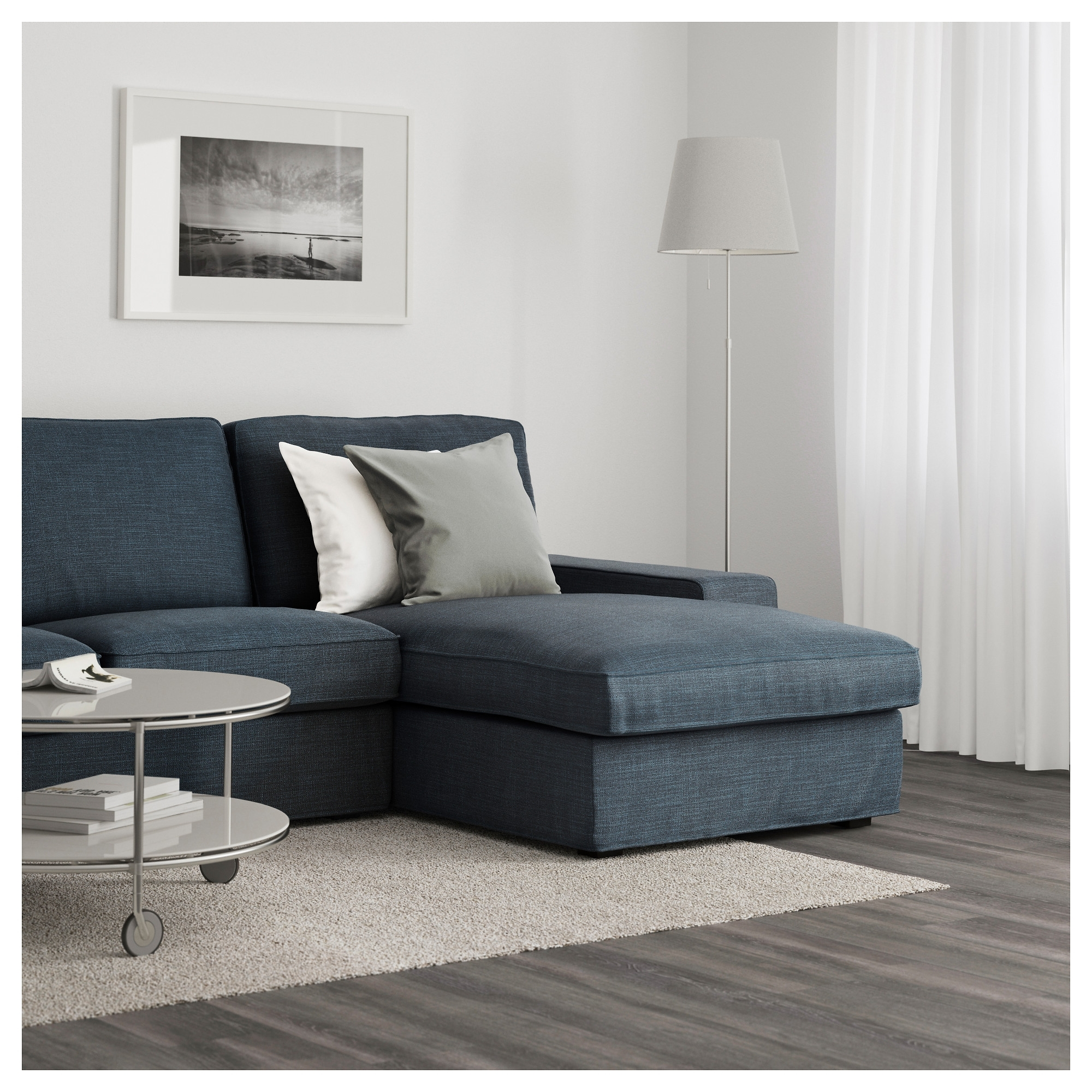 Kivik Sofa – With Chaise/hillared Beige – Ikea Regarding Widely Used Ikea Kivik Chaises (View 11 of 15)