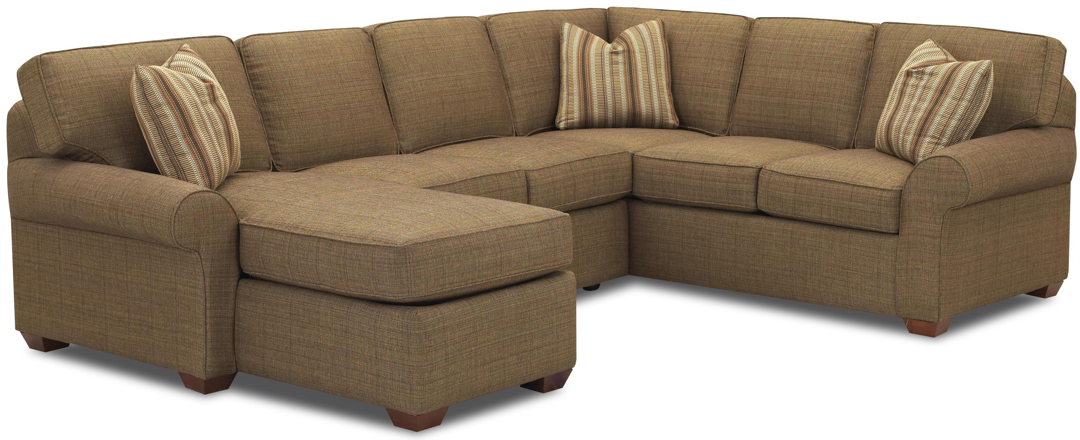 Klaussner Chaise Lounge Chairs Throughout Widely Used Klaussner Patterns Sectional Sofa Group With Right Chaise Lounge (View 4 of 15)