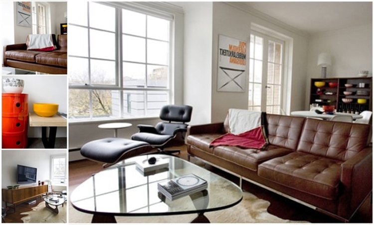 Knoll Sofa, Eames Lounge, And Noguchi Table I'll Take It (View 5 of 10)