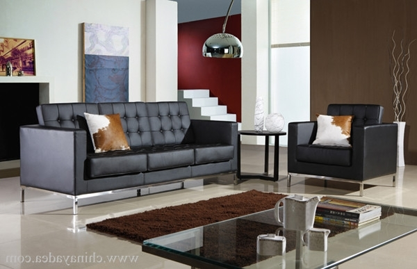 Knoll Sofa In Popular Florence Knoll Living Room Sofas (View 4 of 10)