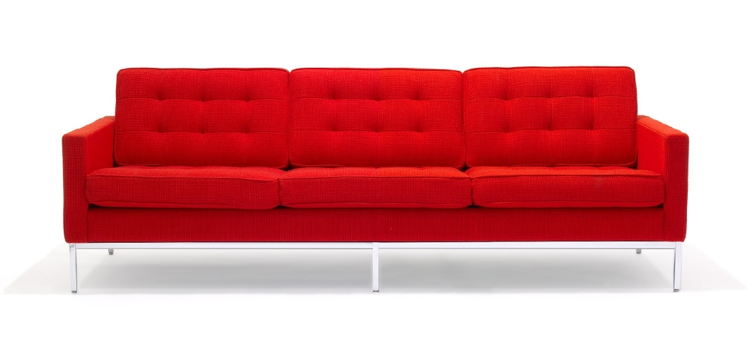 Knoll With Famous Florence Knoll Wood Legs Sofas (Gallery 4 of 10)