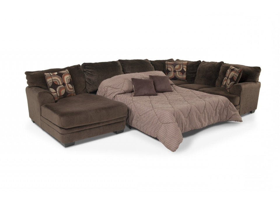 L Shaped Sectional Sleeper Sofas In Recent Modern Queen Sleeper Sofa (View 4 of 10)