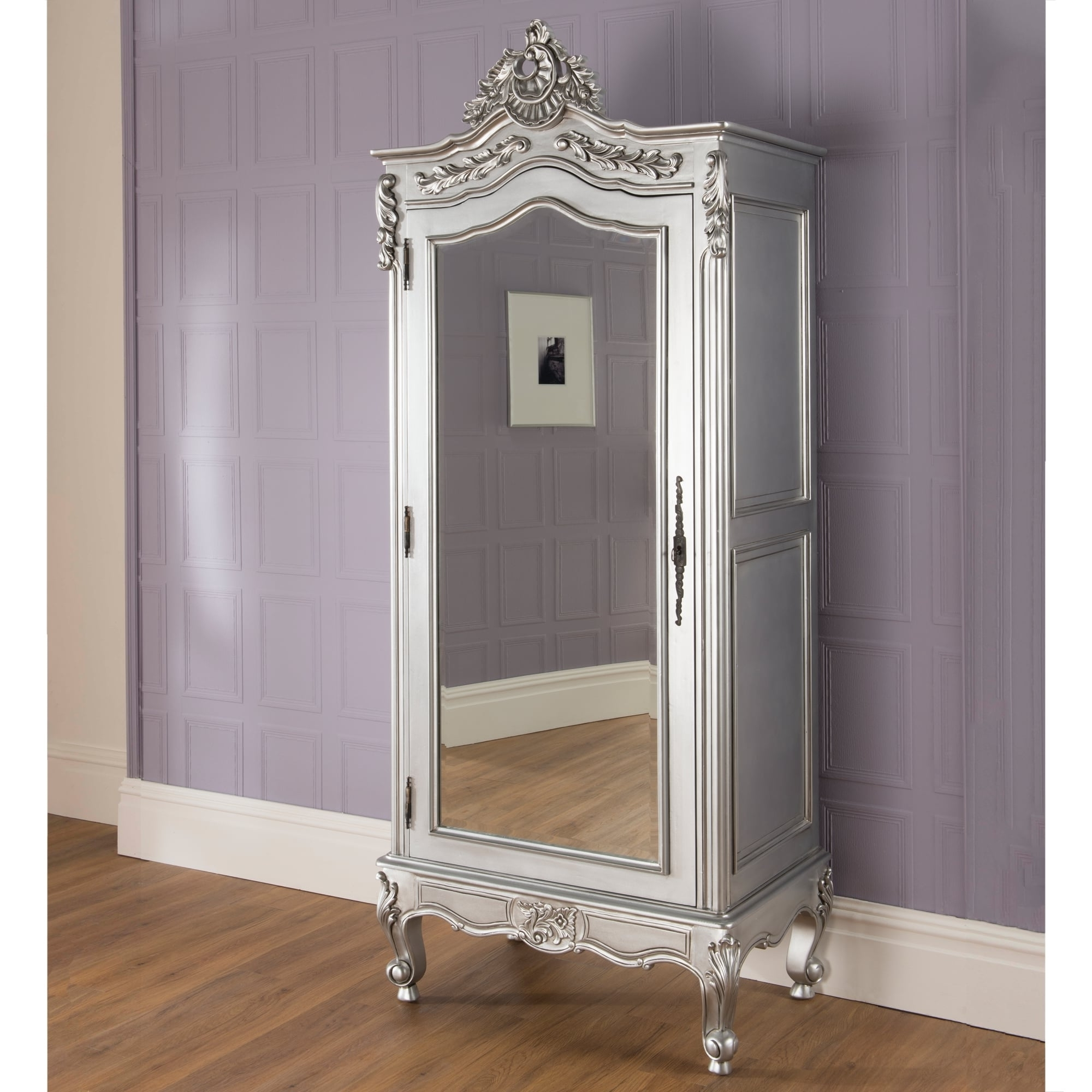 La Rochelle Antique French Wardrobe Is A Fantastic Addition To Our For Newest Silver Wardrobes (View 1 of 15)