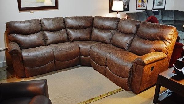 La Z Boy – James Sectional – Harris Family Furniture For Favorite La Z Boy Sectional Sofas (View 5 of 10)