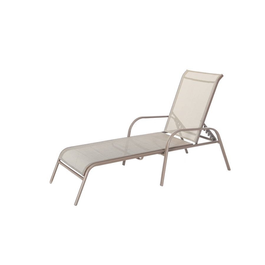 Landscaping: Best Patio Accessories Ideas With Garden Treasures With Regard To Well Liked Lowes Outdoor Chaise Lounges (View 4 of 15)