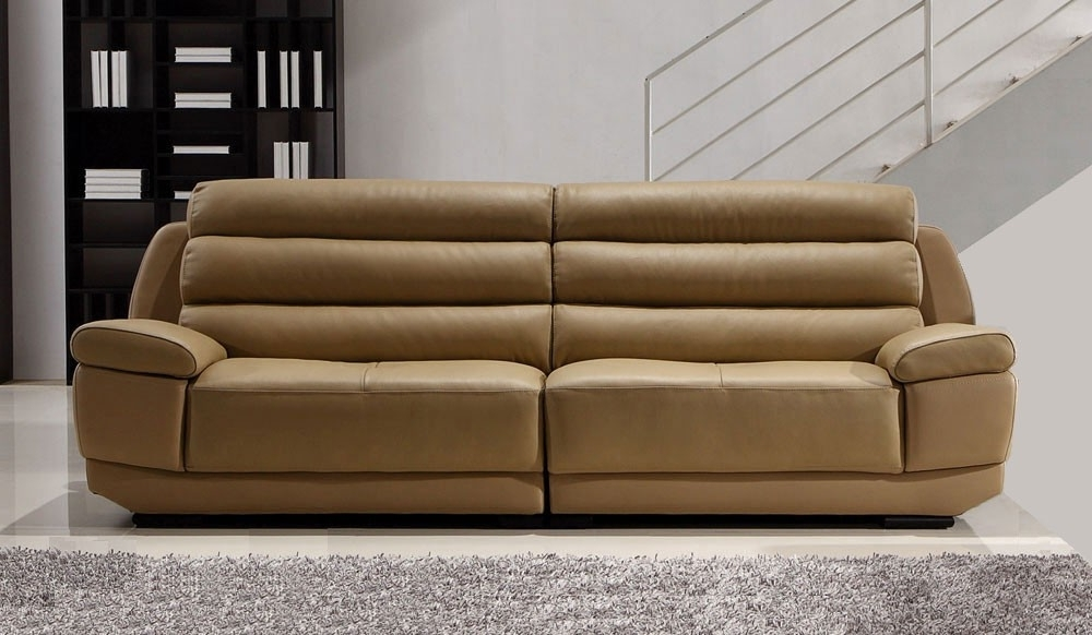 Large 4 Seater Sofas Within Favorite Fanelli Large Leather Sofa – 4 Seater – Delux Deco (View 7 of 10)