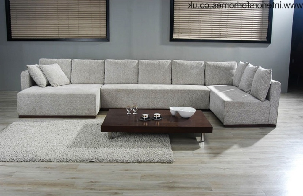 Large U Shaped Sectionals (View 5 of 10)
