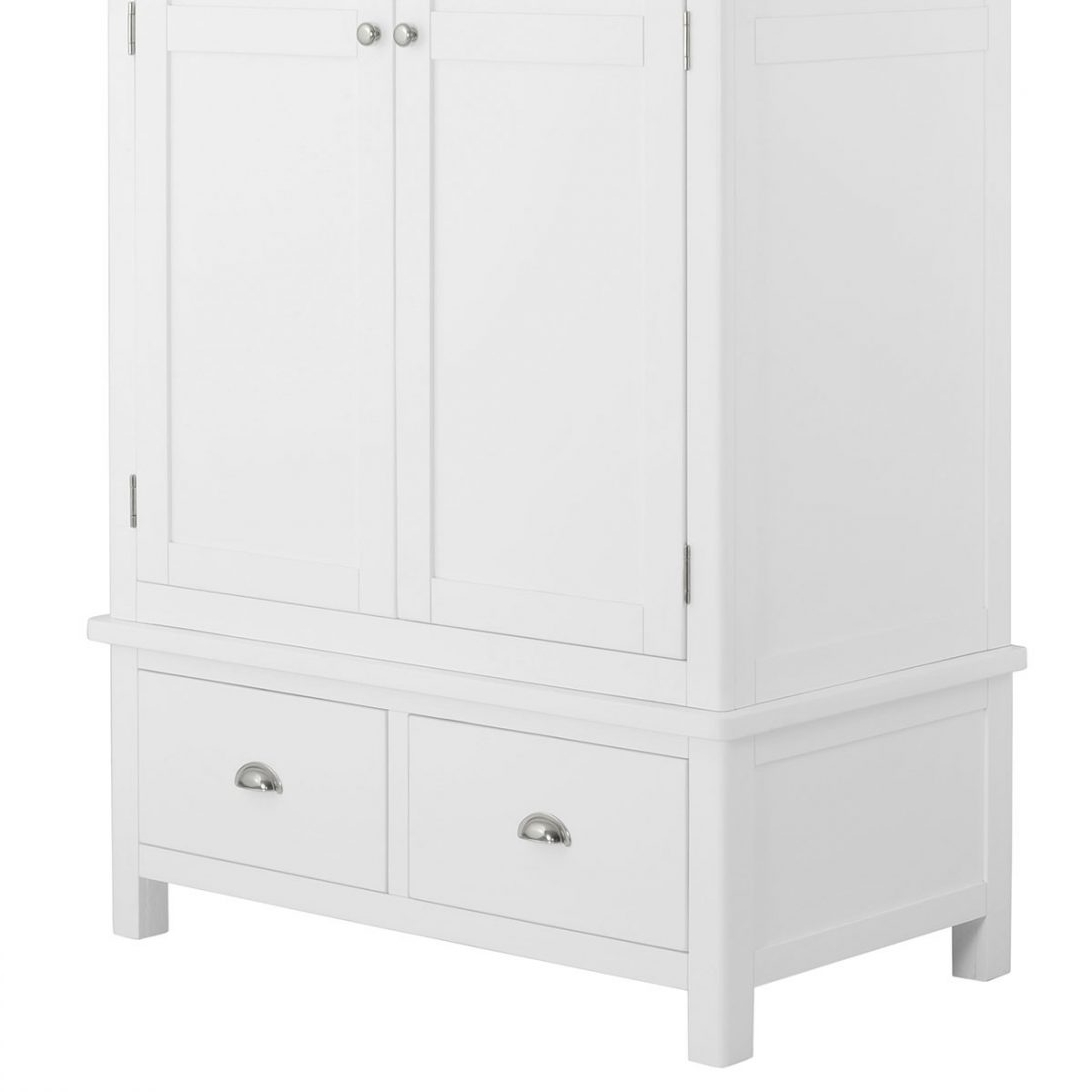 Large White Wardrobes With Drawers Pertaining To Well Known White Wardrobe With Drawers Argos Cheap Large Sliding Door And (View 9 of 15)