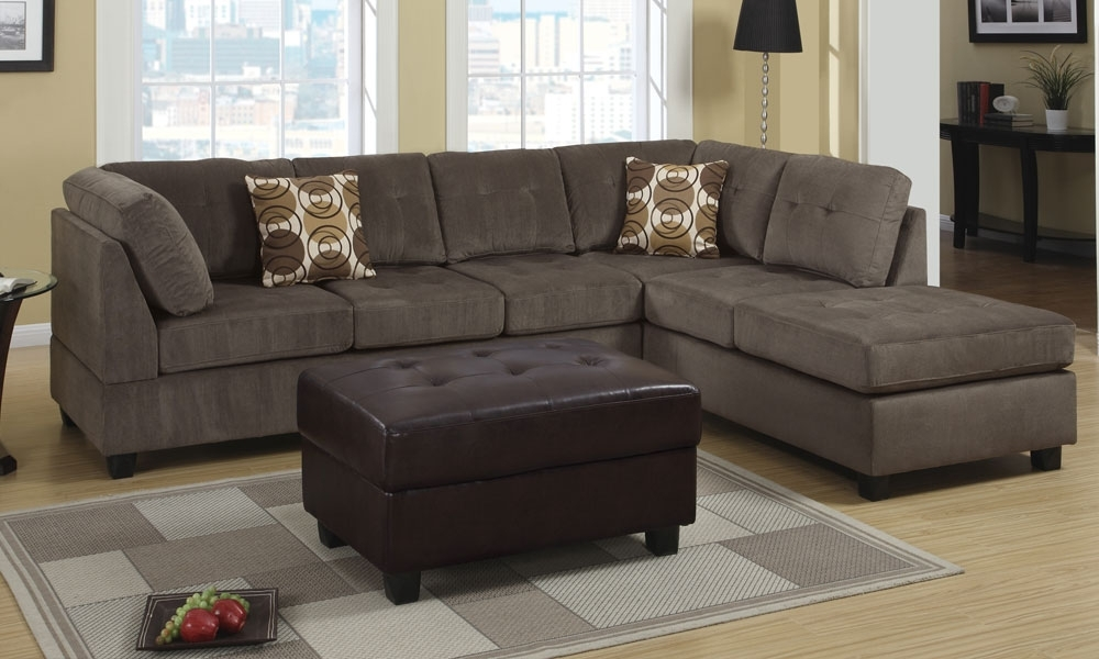 Latest 2 Seat Sectional Sofas Throughout Sofa Beds Design: Awesome Contemporary 3 Seat Sectional Sofa Ideas (View 9 of 15)