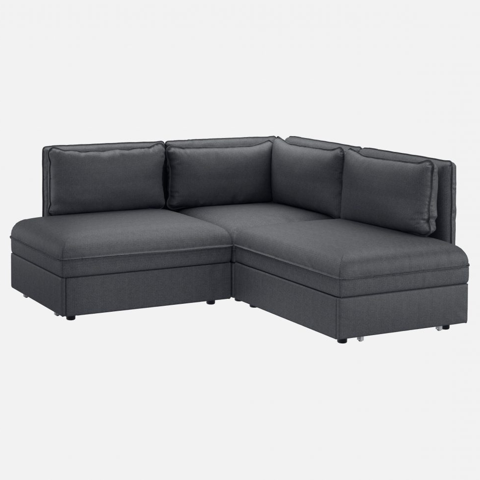 Latest Chaise Lounge Sleeper Sofas For Chesterfield Chair : Storage Chaise Black Sectional Sleeper Sofa (View 10 of 15)