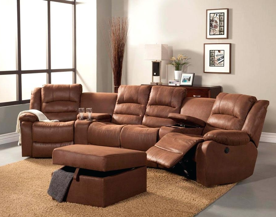 Latest Curved Sectional Sofas With Recliner Within Curved Sectional Sofa With Recliner Sectional Recliner Sofas And (View 8 of 10)