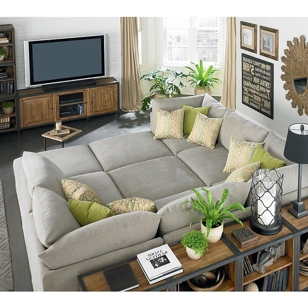 Latest Deep Cushion Sofas Within Amazing Living Rooms Deep Seated Couch Deep Cushion Sofa Giant (View 6 of 10)