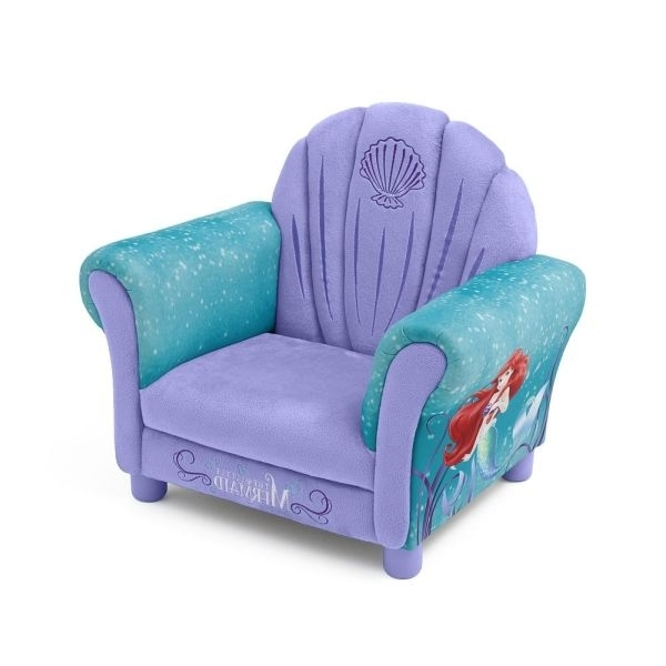Latest Disney Disney Princess Little Mermaid Kids Sofa Ariel Kids For Intended For Disney Sofa Chairs (View 10 of 10)