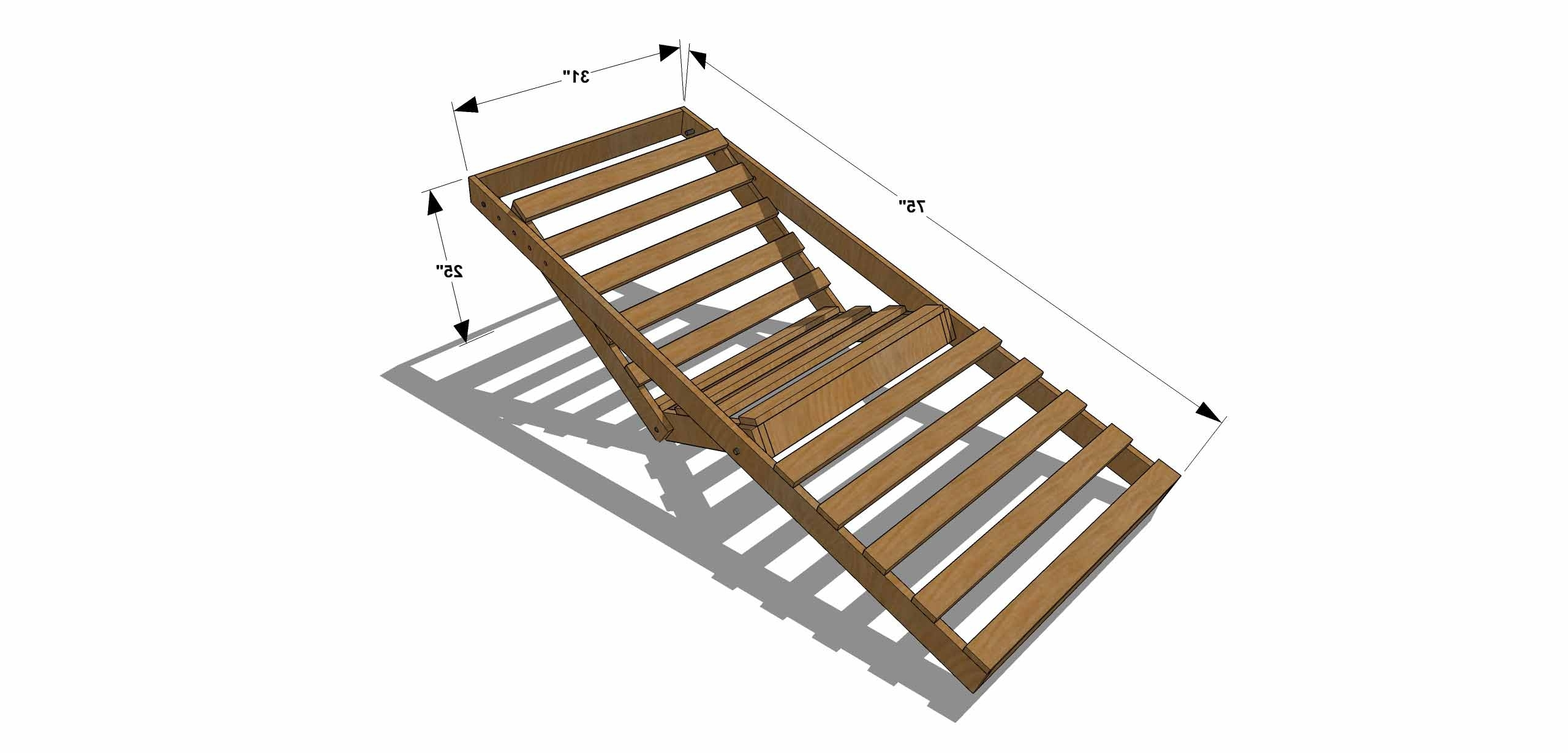 Latest Diy Chaise Lounge Chairs In Diy Furniture Plans How To Build An Indoor Outdoor Single Of With (View 7 of 15)