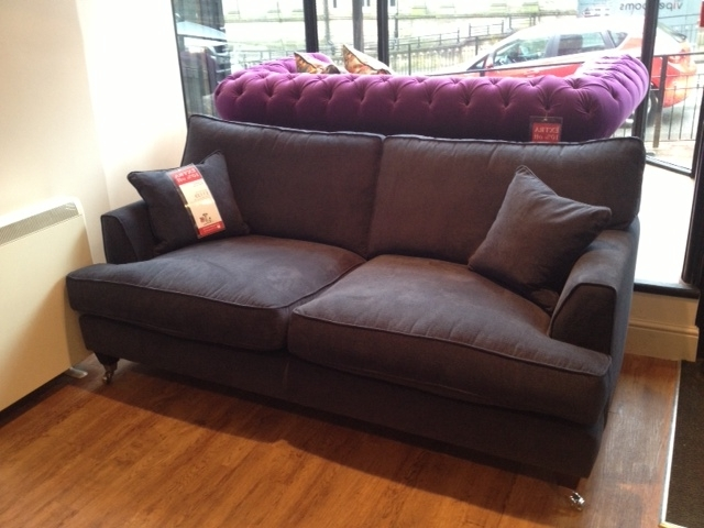 Latest Florence Large Sofa In Vogue Navy – Http://www (View 3 of 10)
