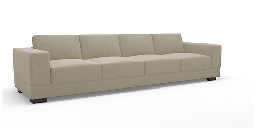 Latest Four Seater Sofas Pertaining To Vanity Four Seater Sofa, Sofas – Hinshitsu Manufacturing Private (View 6 of 10)