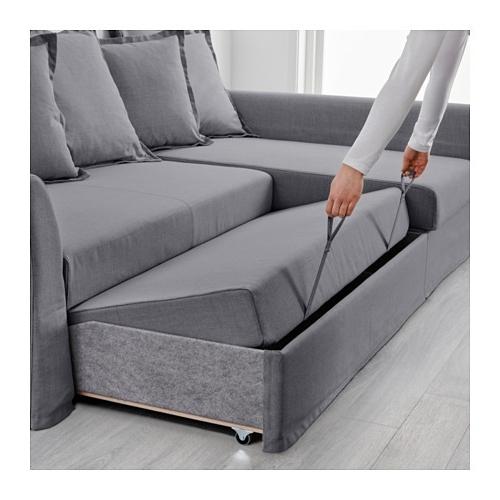 Latest Holmsund Corner Sofa Bed – Nordvalla Medium Gray – Ikea Pertaining To Ikea Small Sofas (View 9 of 10)