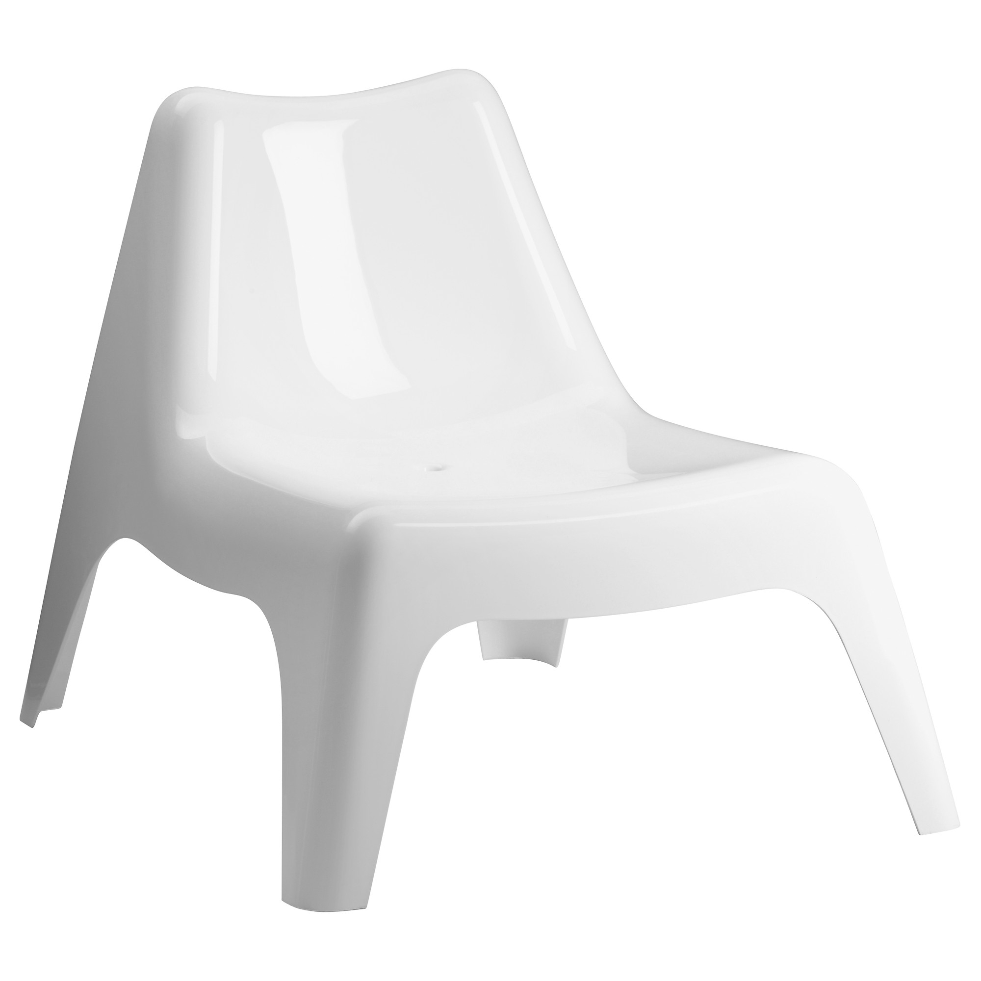 Latest Ikea Outdoor Chaise Lounge Chairs Pertaining To Ikea Ps Vågö Chair, Outdoor – White – Ikea (View 8 of 15)