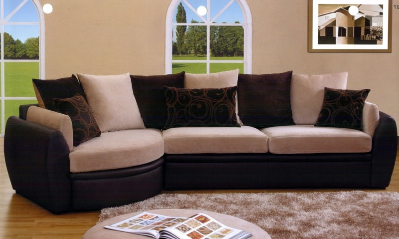 Latest Leather And Suede Sectional Sofas With Sectional Sofa Design: Suede Sectional Sofas Best Ever Suede (View 3 of 10)
