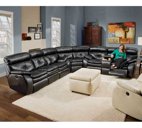 Latest Leather Motion Sectional Sofas Intended For Sectional Sofa (View 5 of 10)