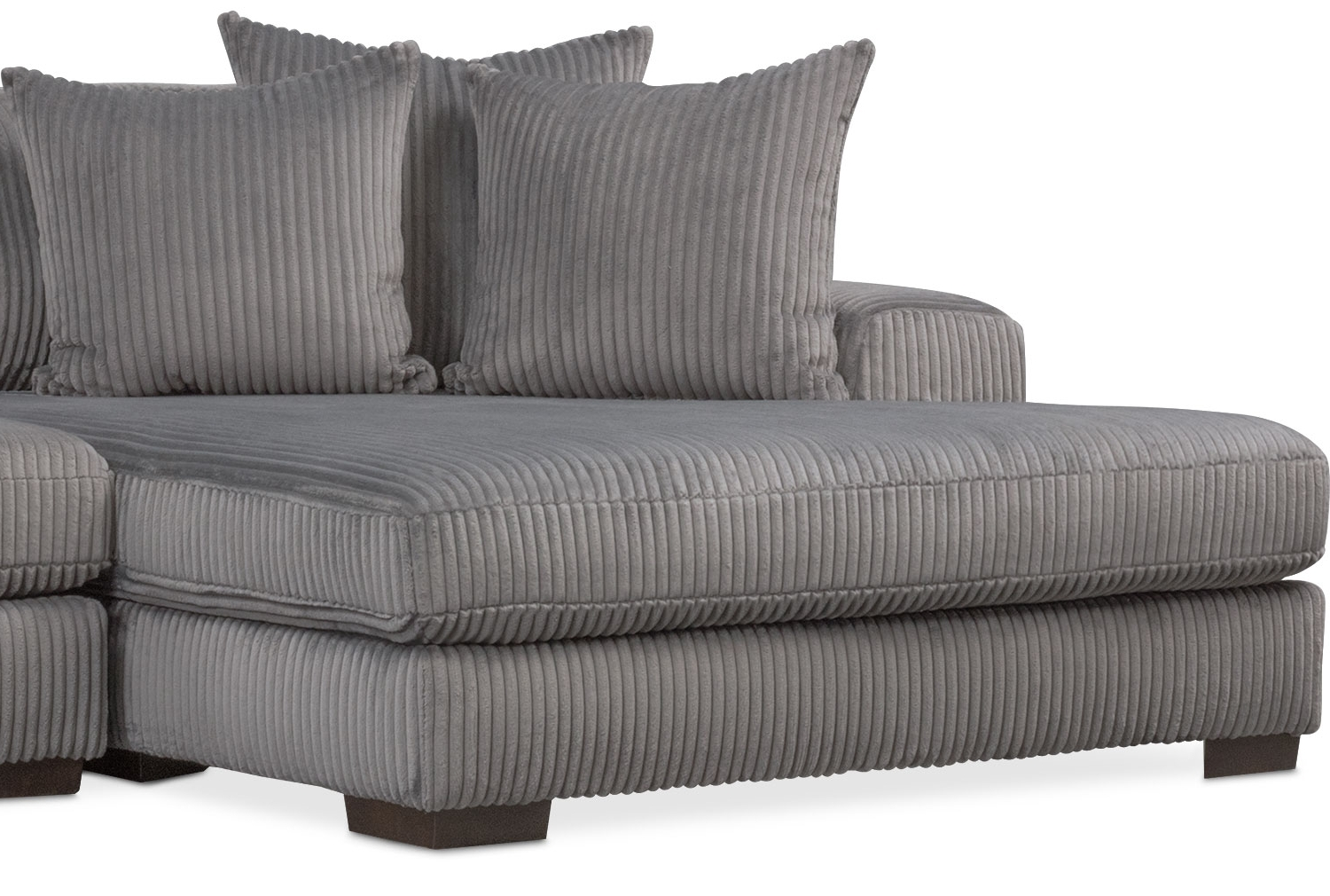 Latest Lounge 2 Piece Sectional With Left Facing Chaise – Gray (View 14 of 15)