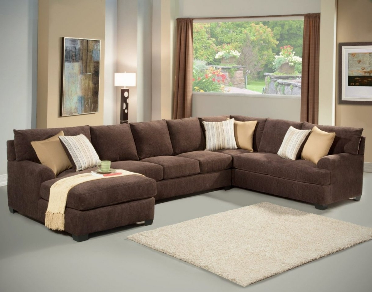 Latest Microfiber Chaises Intended For Queen Sofa Sleeper Sectional Microfiber (View 11 of 15)