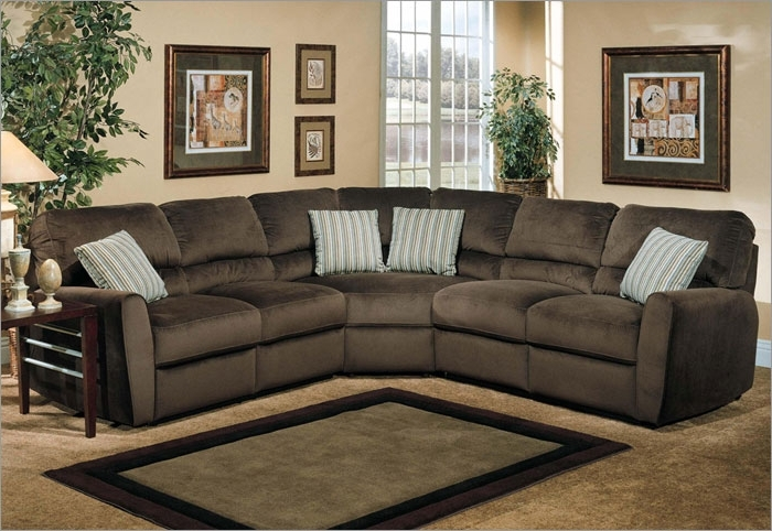 Latest Microfiber Sectional Couches U Shaped Sectional Leather And Micro For Leather And Suede Sectional Sofas (View 4 of 10)