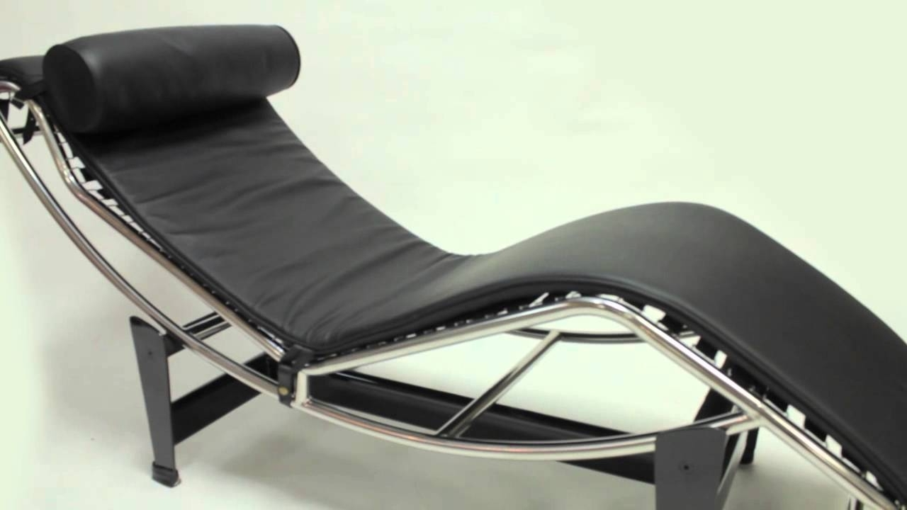 Latest Mid Century Modern Chaise Lounges With Lc4 Chaise Lounge – Le Corbusier – Iconic Furniture – Mid Century (View 3 of 15)