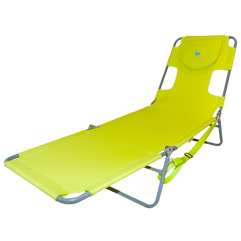 Latest Ostrich Folding Chaise Lounge Chair (View 7 of 15)