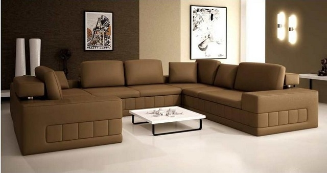 Latest Sectional Sofa Design: Modern Ideas Extra Large Sectional Sofas Pertaining To Extra Large U Shaped Sectionals (View 5 of 10)