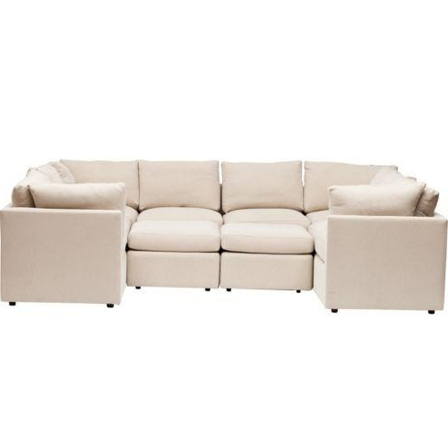 Latest Small U Shaped Sectional Sofas Regarding Sectional (View 5 of 10)