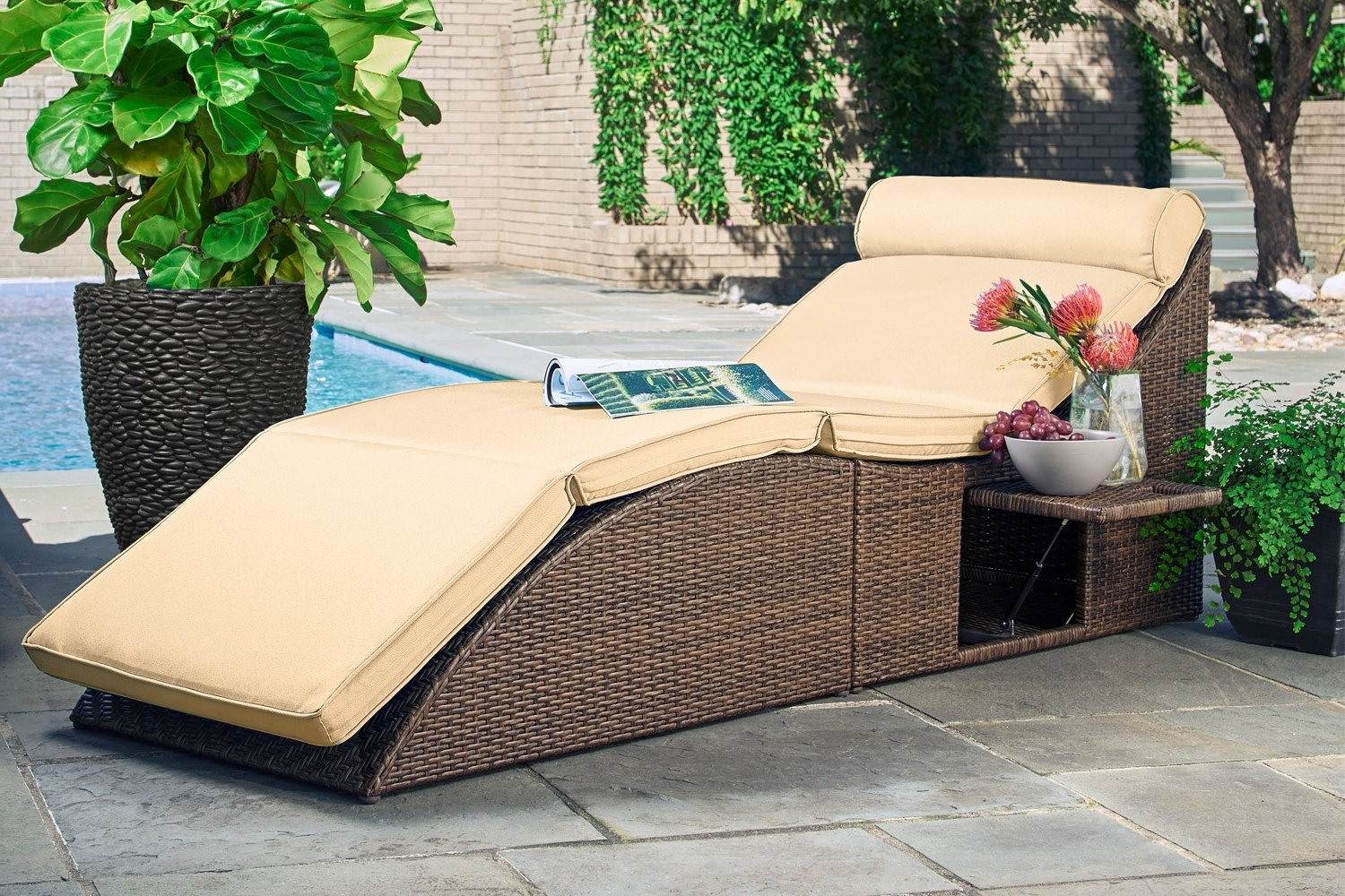 Latest Sofa Bed Chaises Intended For Outdoor Futon Sofa Bed Chaise Lounger Bodega – Outdoor Futon (View 3 of 15)