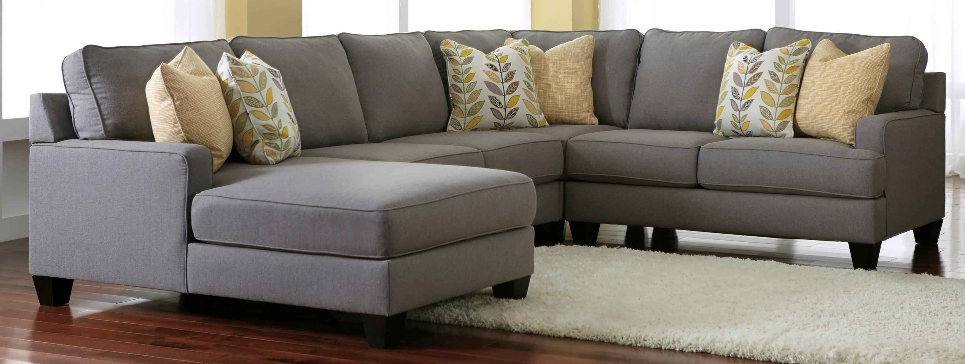 Latest Sofa : Cheap Sectionals Gray Chaise Sofa Gray Sectional With With Chaise Sectionals (View 9 of 15)