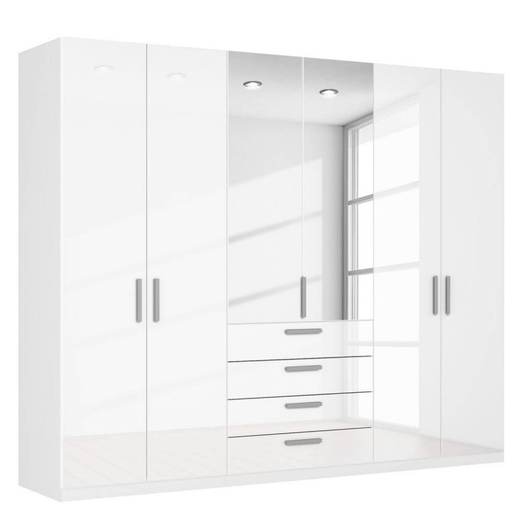 Latest Stylish Tall White Gloss Wardrobes – Buildsimplehome Within Tall White Gloss Wardrobes (View 9 of 15)