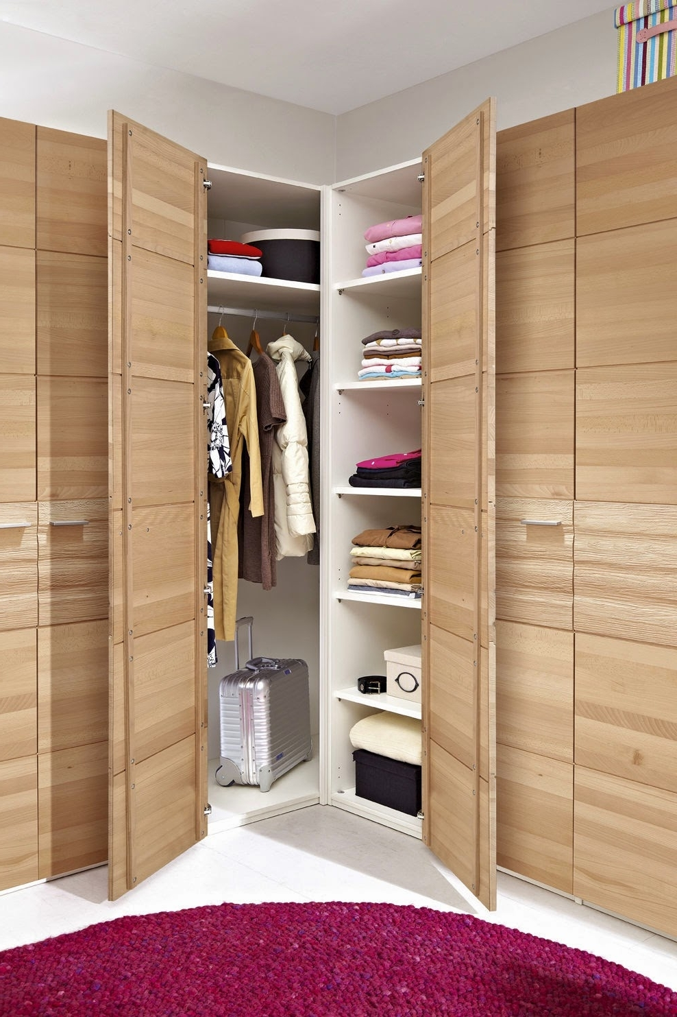 Latest The Corner Wardrobe – Your Spacious Solution For The Bedroom – My With Regard To Small Corner Wardrobes (View 3 of 15)