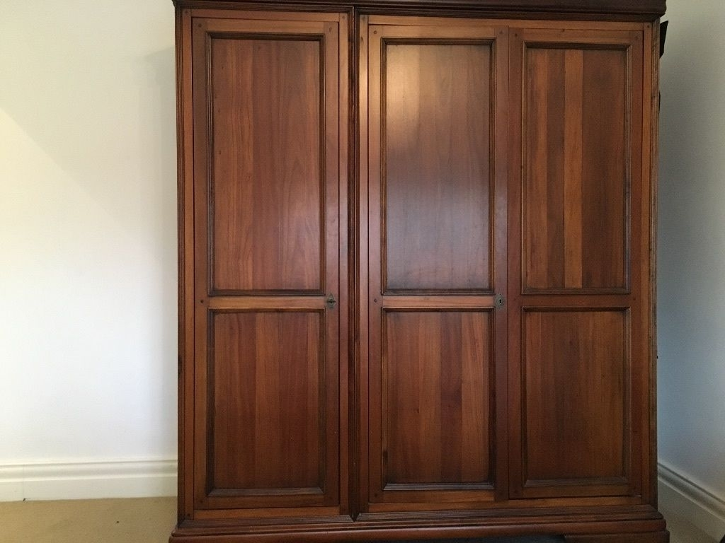 Latest Willis And Gambier Louis Philippe Triple Wardrobe (View 8 of 15)