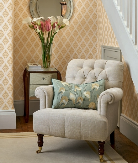 Laura Ashley With Regard To Trendy Sofas And Chairs (View 4 of 10)