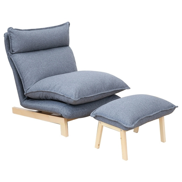 Lazy Sofa Chairs With Most Current Contemporary Folding Lazy Sofa Chair Japanese Style Foldable Sofa (View 7 of 10)
