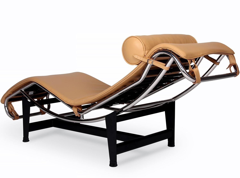 Le Corbusier Lc4 Chaise Longue (Platinum Replica) Throughout Newest Le Corbusier Chaises (View 6 of 15)