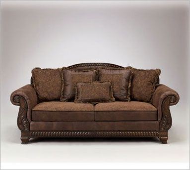 Leather And Cloth Sofas For Latest Leather And Fabric Sofa Savings (View 3 of 10)