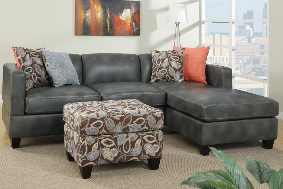 Leather Chaise Sectionals Throughout Preferred Sectional Sofa Design: Wonderful Grey Sectional Sofa With Chaise (View 15 of 15)