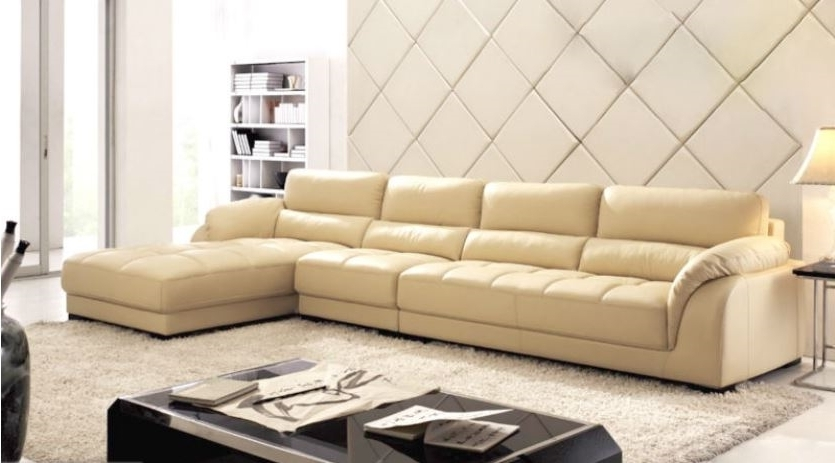 Leather L Shaped Sectional Sofas For Widely Used Sectional Sofa With Chaise (View 4 of 10)
