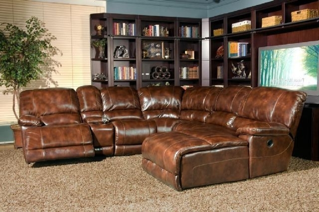 Leather Motion Sectional Sofas Pertaining To Popular Thomasville Leather In Motion Sectional Rapid City South Dakota (View 7 of 10)