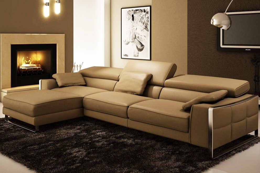 Leather Sectionals Intended For Preferred Leather Sectional Sofas (View 8 of 10)