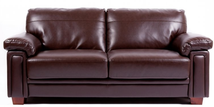 Leather Sofa – 3 Seater Regarding Most Recent 3 Seater Leather Sofas (View 9 of 15)