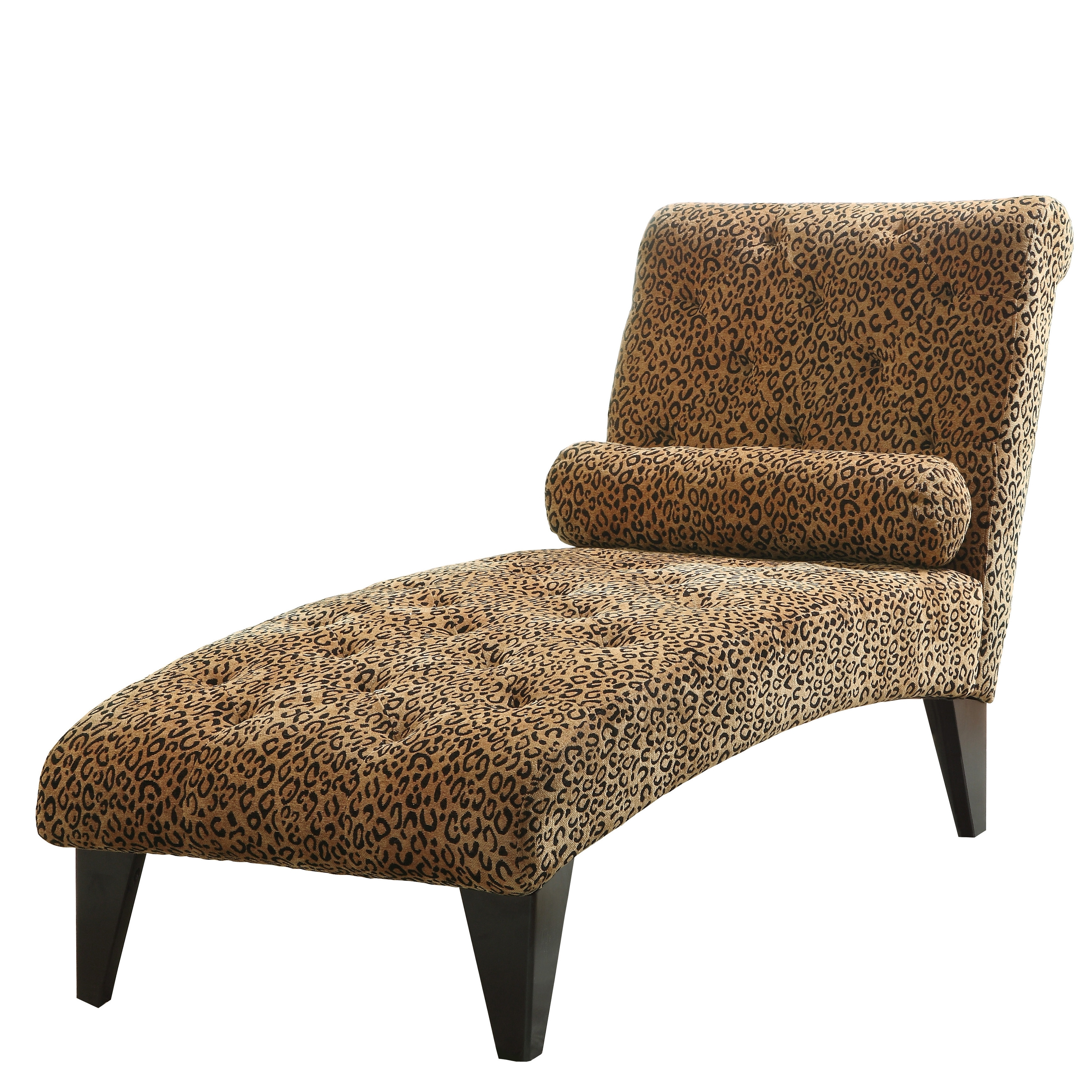 Leopard Print Chaise Lounge Chair • Lounge Chairs Ideas In Newest Coaster Chaise Lounges (View 10 of 15)
