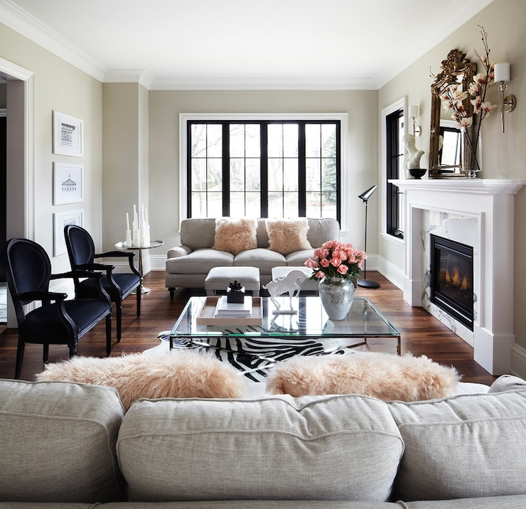 Light Grey Sofa – Contemporary – Living Room – The Design Company Pertaining To 2018 Grey Sofa Chairs (View 5 of 10)